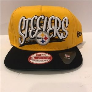Pittsburger Steelers Snap Back Cap 9Fifty Brand